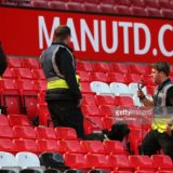 during the Barclays Premier League match between Manchester United and AFC Bournemouth at Old Trafford on May 15, 2016 in Manchester, England.