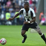 during the Serie A match between Juventus FC and UC Sampdoria at Juventus Arena on May 14, 2016 in Turin, Italy.