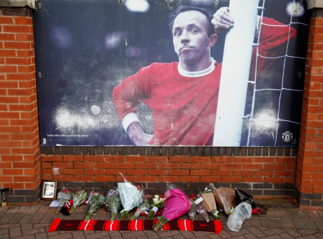 Tributes Are Left To England World Cup Hero Nobby Stiles