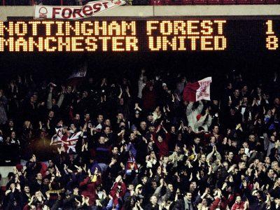 Klassiska matcher: Nottingham Forest - Manchester United 1-8
