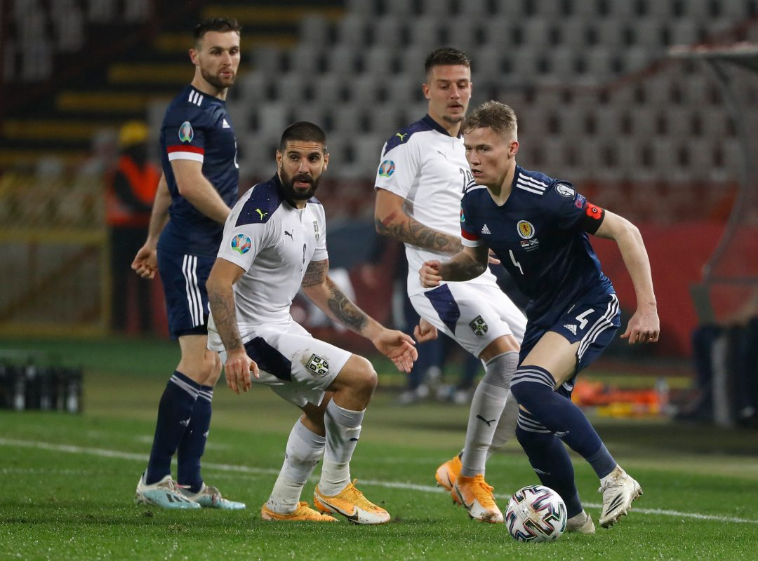 Serbia v Scotland - UEFA EURO 2020 Play-Off Finals