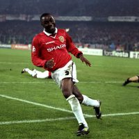 He gets the ball, he scores a goal, Andy, Andy Cole