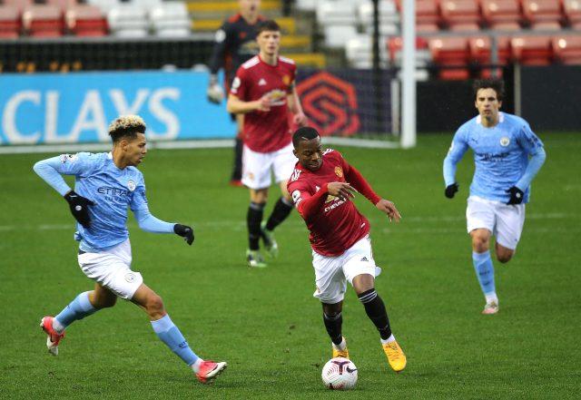 Manchester United v Manchester City EDS: Premier League 2