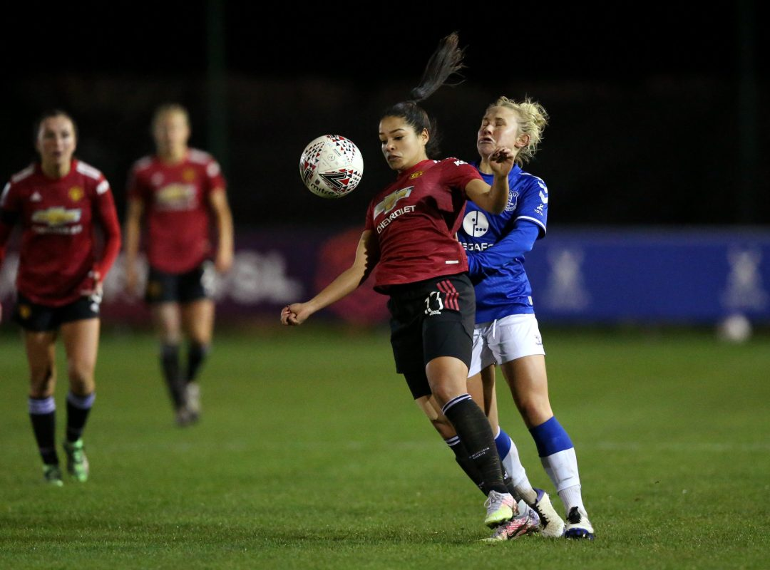 Everton Women v Manchester United Women - The FA Women's Continental Cup