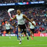 LONDON, ENGLAND - MAY 21:  Jesse Lingard of Manchester United celebrates as he scores their second goal during The Emirates FA Cup Final match between Manchester United and Crystal Palace at Wembley Stadium on May 21, 2016 in London, England.  (Photo by Shaun Botterill/Getty Images)