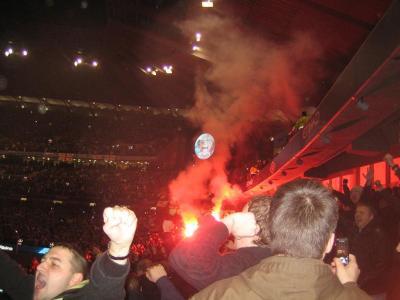 Resereportage: United - Leeds/city