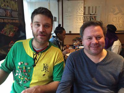 Tobias från MUSS Stockholm anslöt till Watfordmatchen