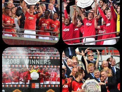 Manchester Uniteds Charity/Community Shield-vinster
