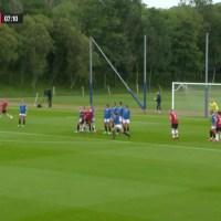Damlaget: Rangers – Manchester United 0-5