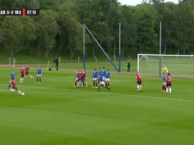 Damlaget: Rangers - Manchester United 0-5