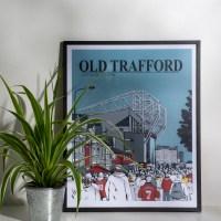 Pär och Rickard vinner Old Trafford Print