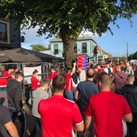 Resereportage: Manchester United – Sampdoria i Dublin