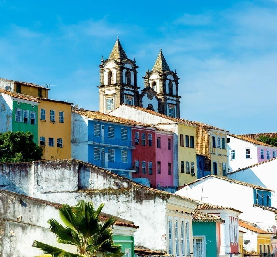 The historic centre of Salvador | Brazil Travel Guide