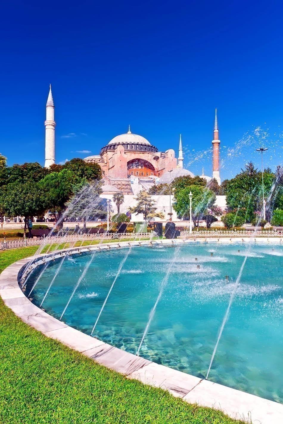 Beautiful View of Hagia Sophia in Istanbul, Turkey | Turkey Travel Guide