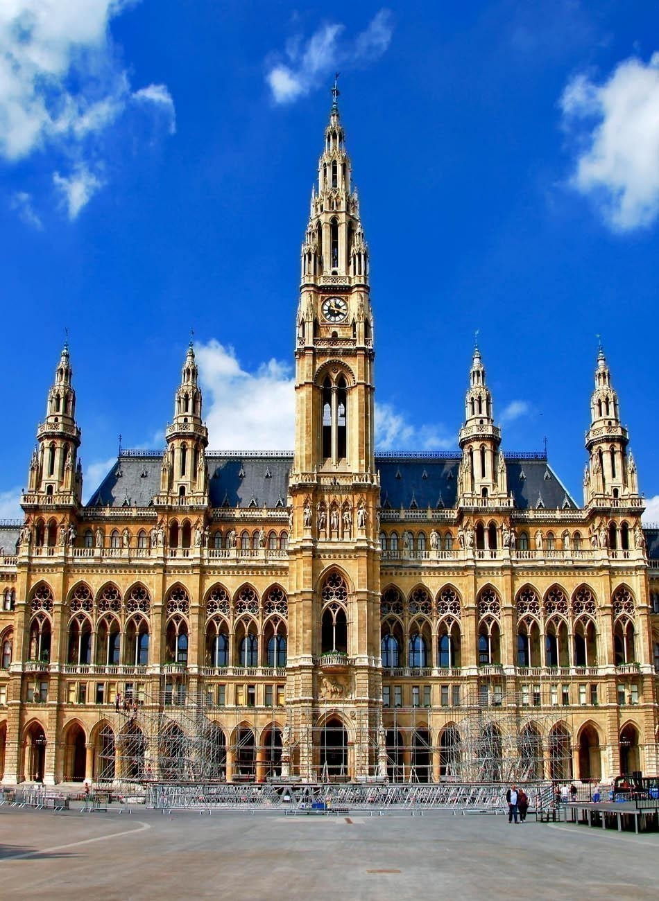 Viena, City hall   What to do in Vienna in 3 Days