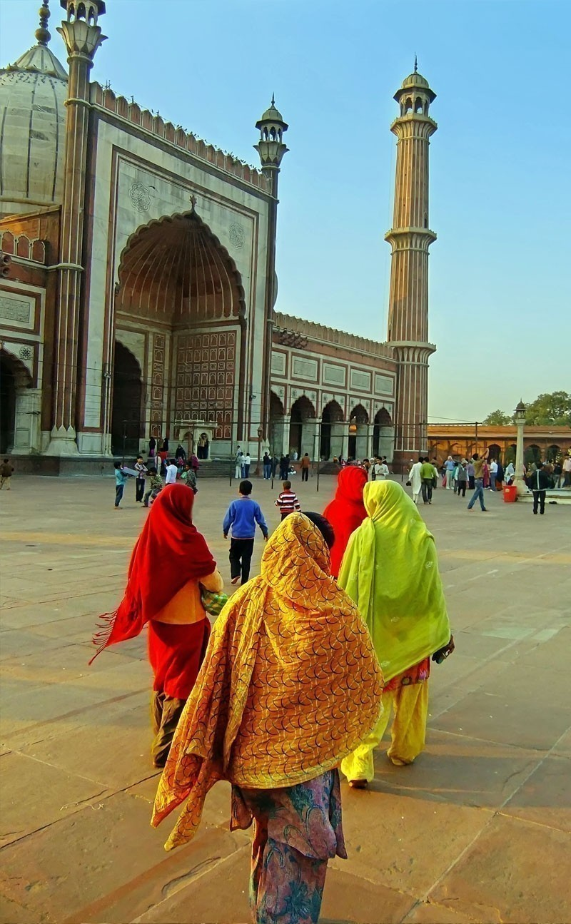 Beautiful Facade of Jama Masjid Delhi | Your Complete Travel Guide to India