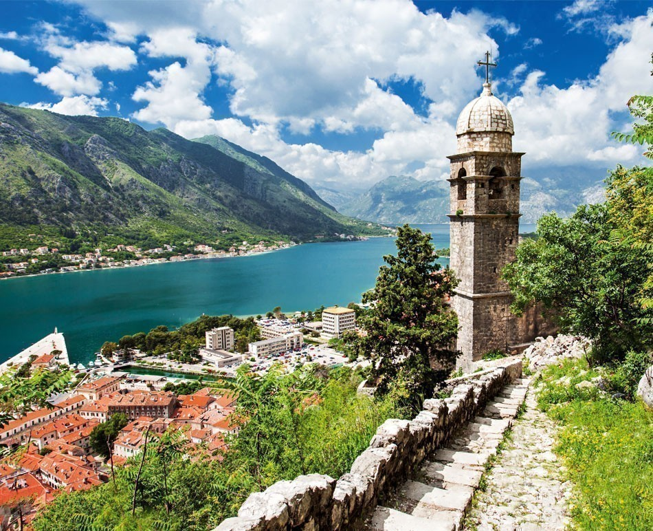 Old church inside Stari Grad, Kotor, Montenegro | TOP 10 Budget Destinations for 2016