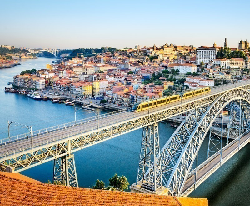 Beautiful view of Porto with the Dom Luiz bridge | Portugal Travel Guide: What to Do and See