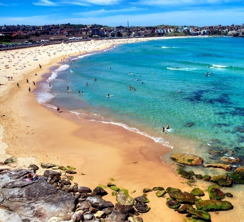 Not just Sydney's but one of the world's greatest beaches, Bondi is a must in every beach lover's bucket list | Top 10 Australian Beaches That You Must Include in Your Bucket List
