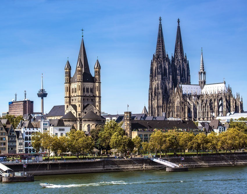 Cologne, a 2,000-year-old city spanning the Rhine River in western Germany, is the region's cultural hub. | Germany Travel Guide
