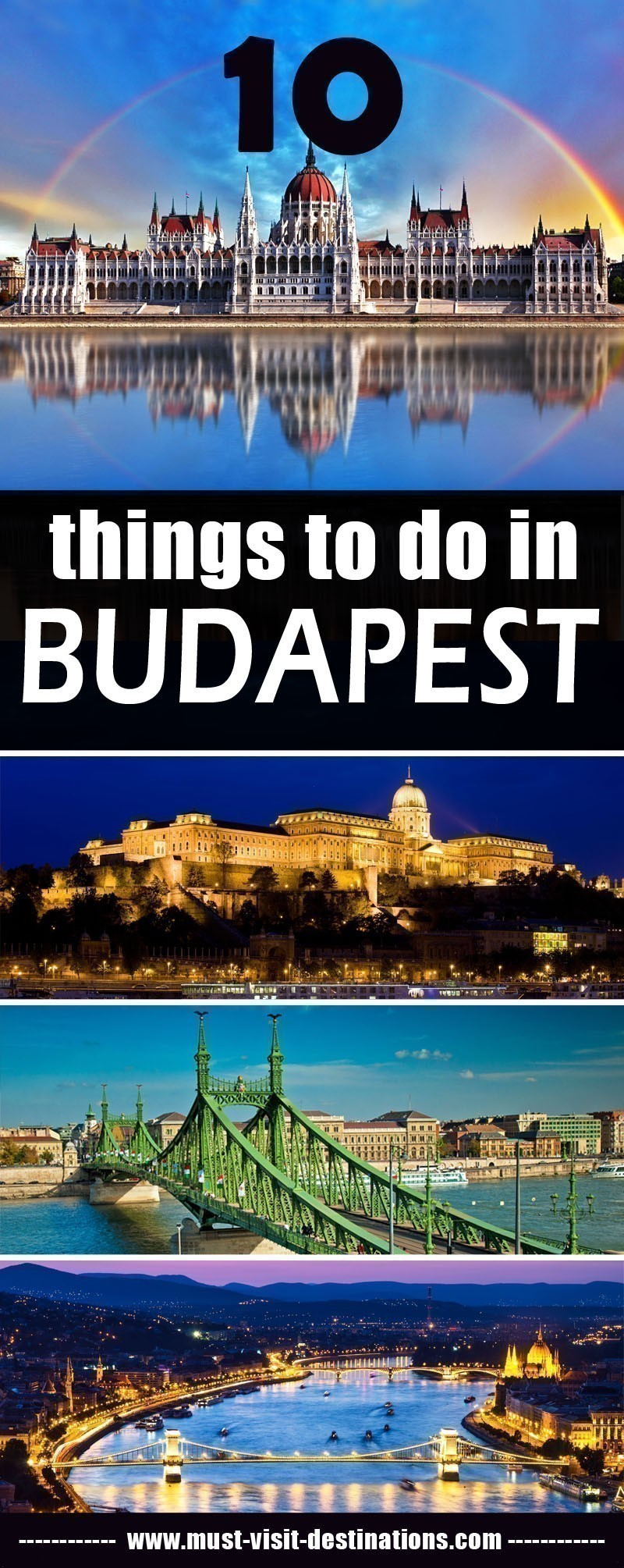 10 Things To Do in Budapest #travel #culture #budapest