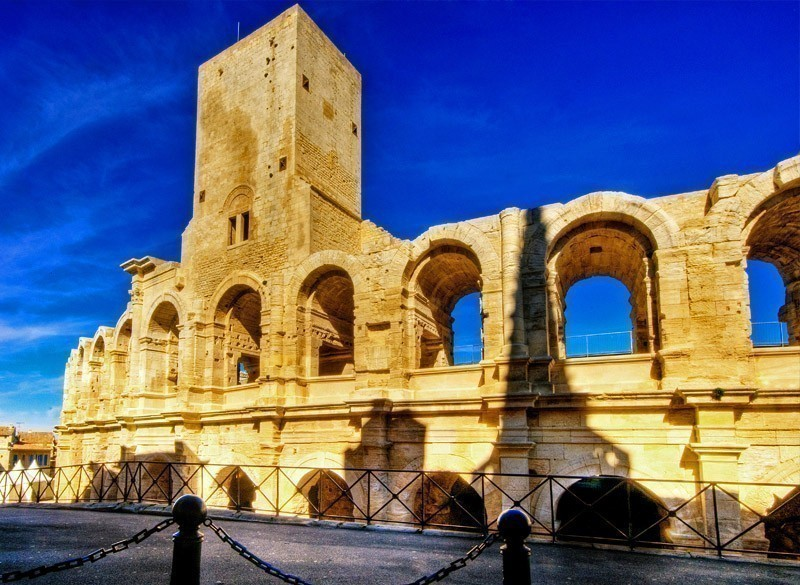 Arena and Roman Amphitheatre, Arles, Provence, France | 10 Most Exquisite Places to Visit in France