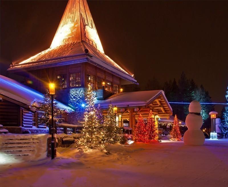 Santa Claus Village. Rovaniemi, Finland, Arctic Circle. | TOP 10 Kid-Friendly Destinations Around the World