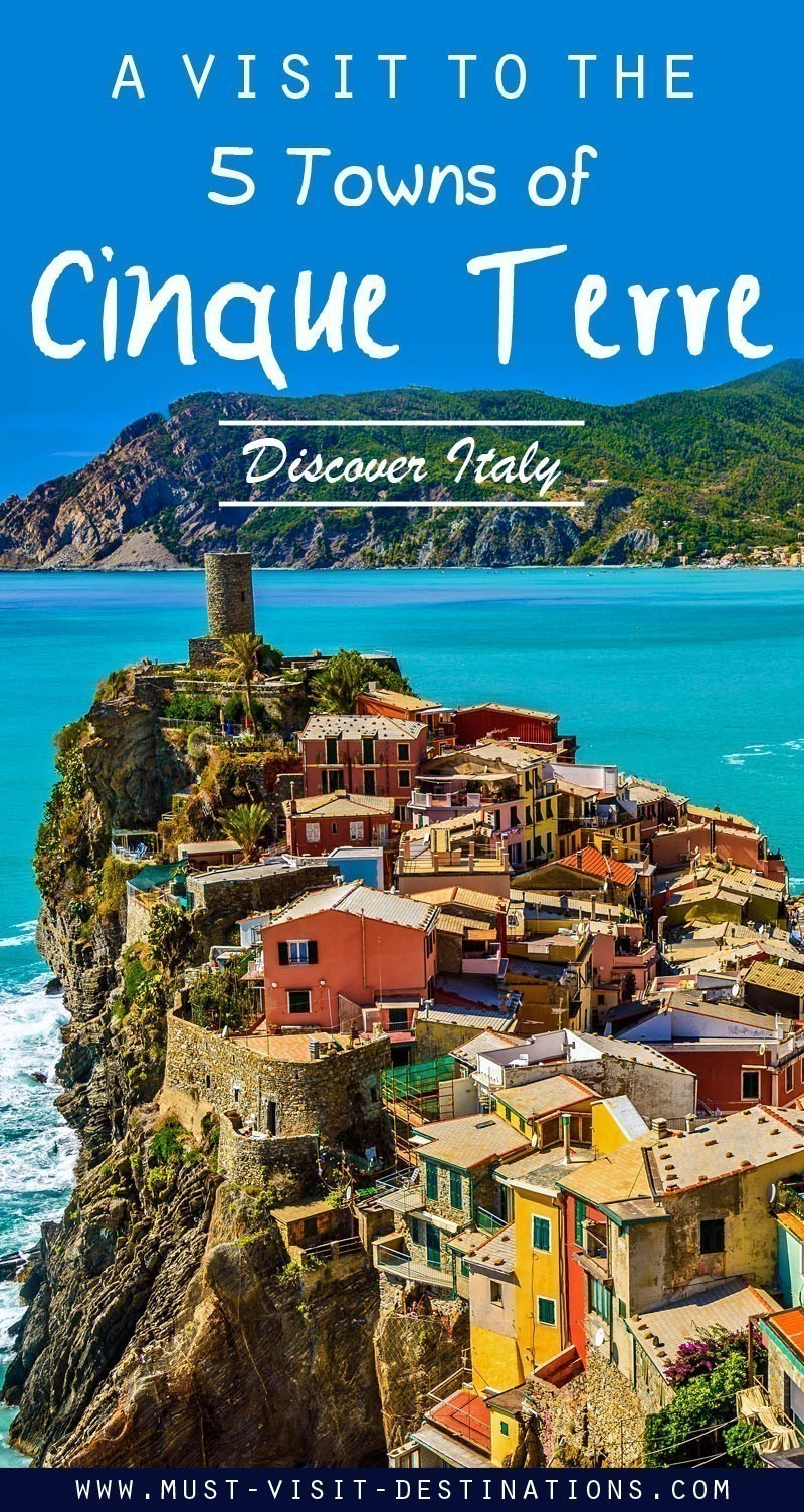 A visit to the 5 Towns of Cinque Terre - Discover Italy #travel #italy