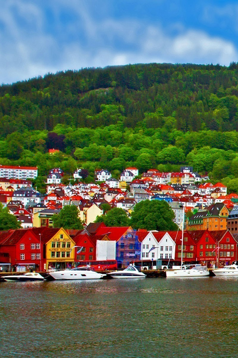 View of Bergen, Norway   TOP 10 Places To Travel in May