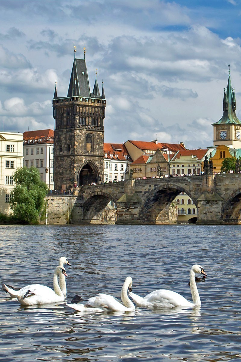View of the famous Charles Bridge in Prague, Czech Republic | TOP 10 Places To Travel in May