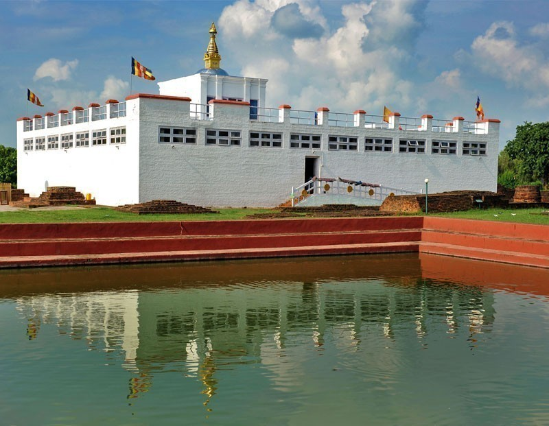 View of Maya Devi Temple in Lumbini | 10 Top-Rated Tourist Attractions in Nepal