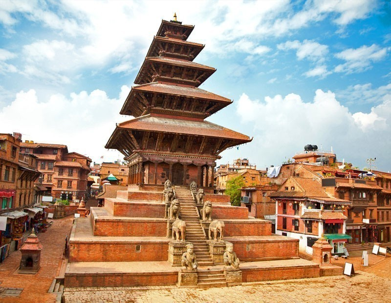 Nyatapola Pagoda on Taumadhi Square in Bhaktapur, Kathmandu Valley | 10 Top-Rated Tourist Attractions in Nepal