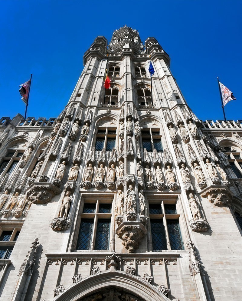 The Town Hall of the City of Brussels is a Gothic building from the Middle Ages | What to Do in Brussels in 3 Days
