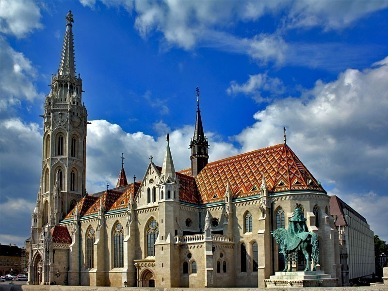 View of Catholic Matthias Church in Budapest, Hungary | What to Do in Budapest in 3 Days