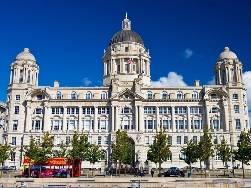 67-meter tall Port of Liverpool Building, constructed in an Edwardian Baroque style | What to Do in Liverpool in 3 Days
