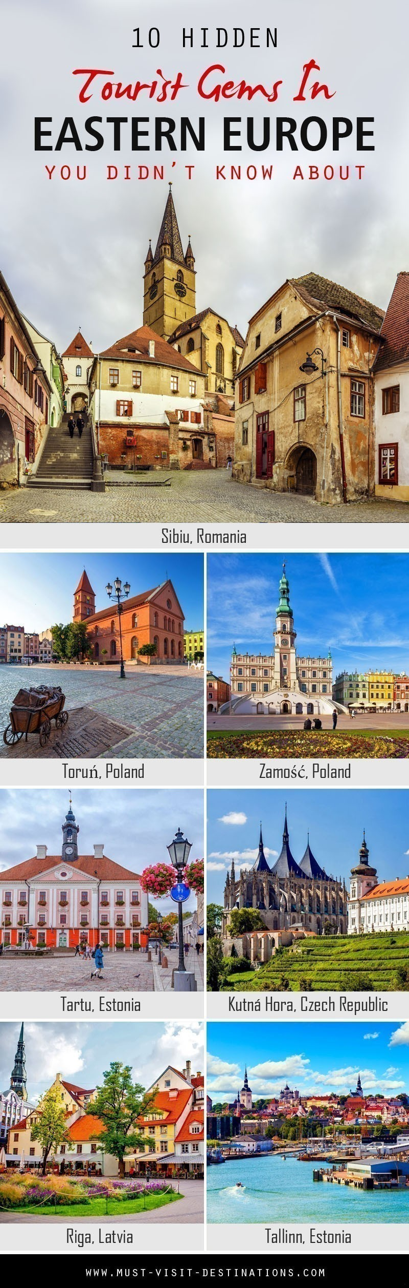 10 Hidden Tourist Gems In Eastern Europe You Didn't Know About #travel