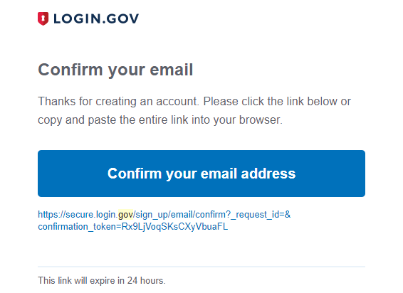 Bypass two factor authentication on login.gov