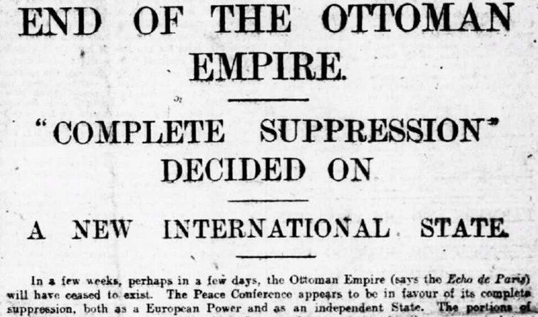İşte Osmanlı Böyle Sonlanmış!