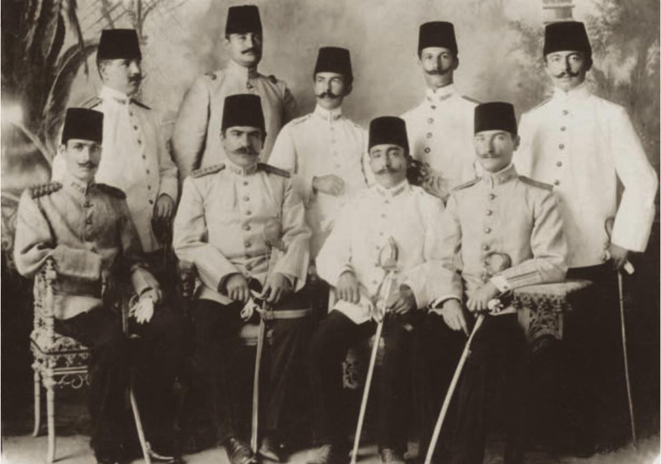 Atatürk'ün Şam'daki 5. Ordu'ya Atanması