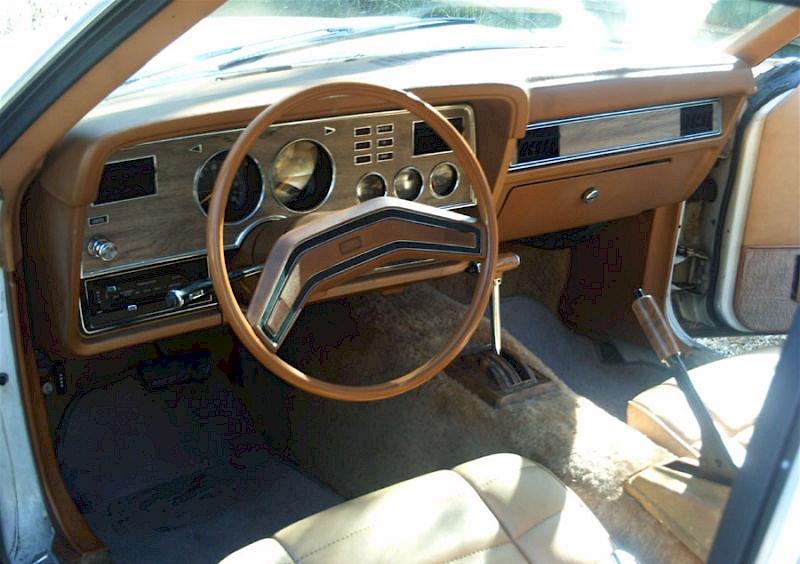 Tan Interior Car