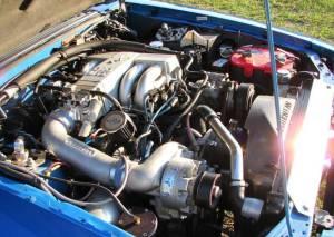 Ultra Blue 1992 Ford Mustang GT Steeda Hatchback