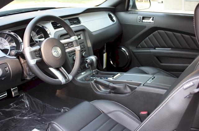 Brilliant Silver 2010 Ford Mustang Coupe MustangAttitude