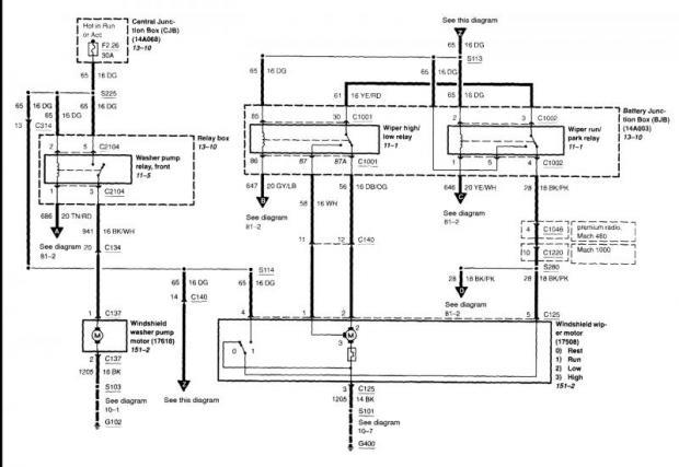 2000 mustang wiring diagram  center wiring diagram rung