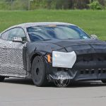 Ford Mustang Shelby GT500 Spy Shot