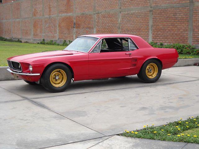 This Holman-Moody Mustang is a racing time capsule.