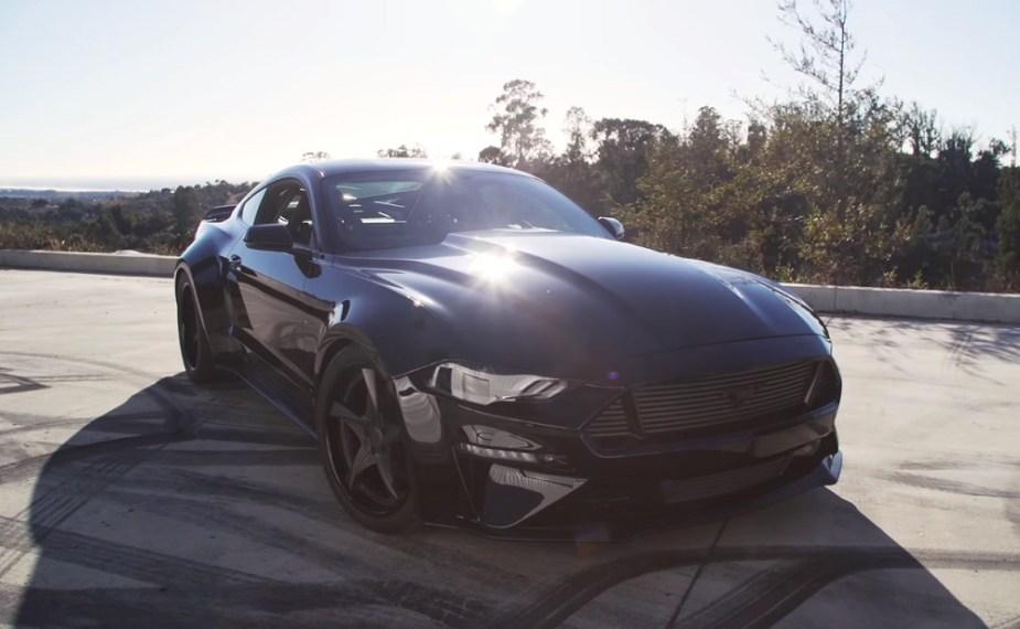 Off Road Racer Builds Killer 18 Mustang For Sema Mustangforums