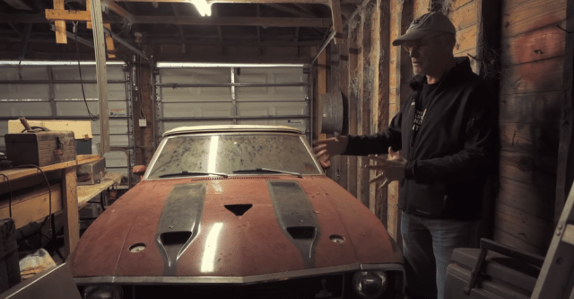barn find GT500 Shelby