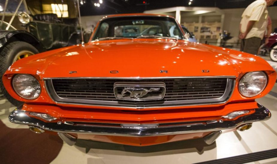 "Ford Mustang Part of ""Ten Cars That Changed the World"" Exhibit"