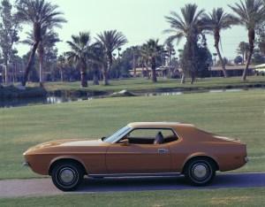 1972 Ford Mustang hardtop