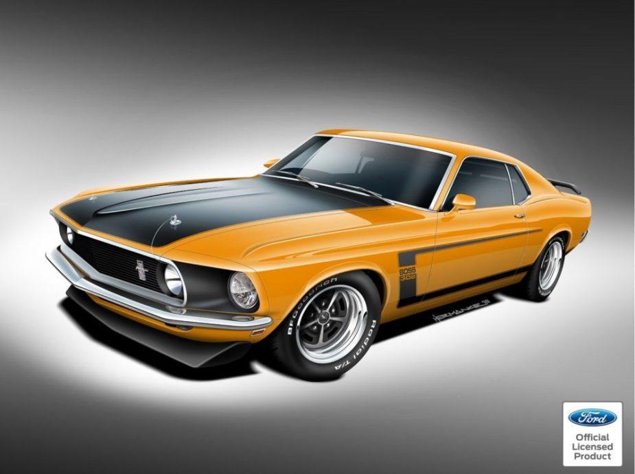 Classic Recreations 1969 Boss 429 Mustang